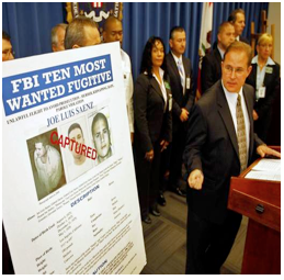 Did California Drop the Ball on FBI's Most Wanted List