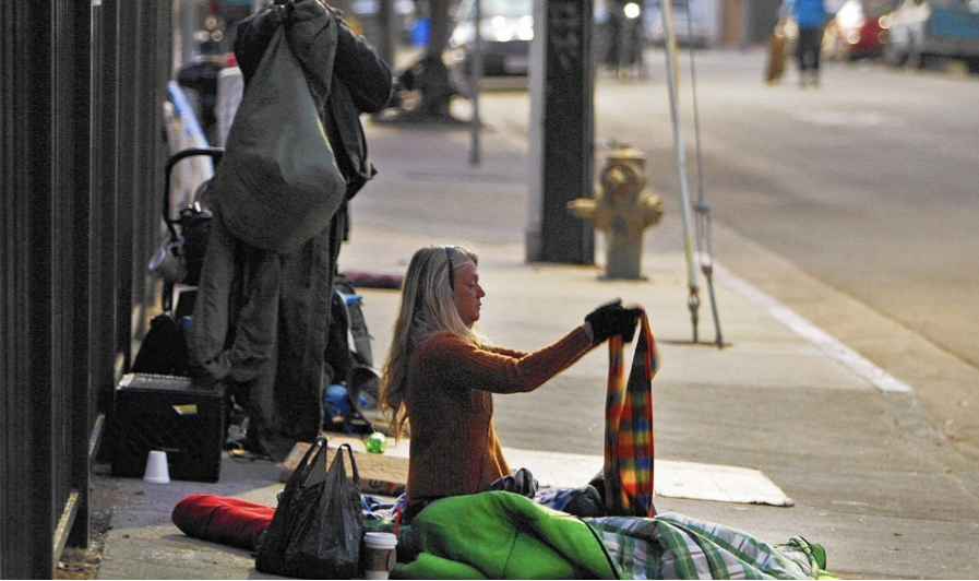 Unsheltered homeless rate is fifteen times higher in L.A