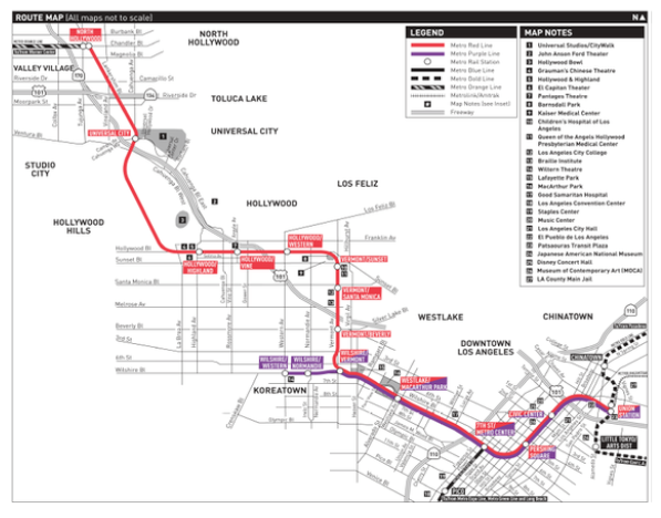 La Subway Map Year.Two Los Angeles Nominees For The Revived Dubious Achievement Awards