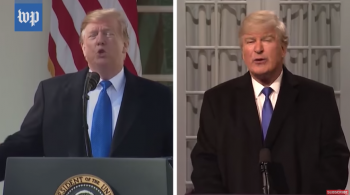 SNL's Trump vs the real thing … on emergency declaration