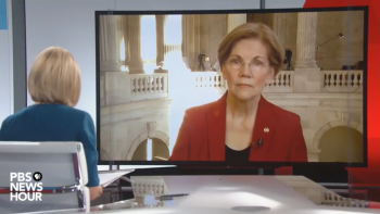 Elizabeth Warren nails what's wrong with Dems