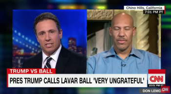 "Lavar Ball to Chris Cuomo: ""What did Trump do to help?"""